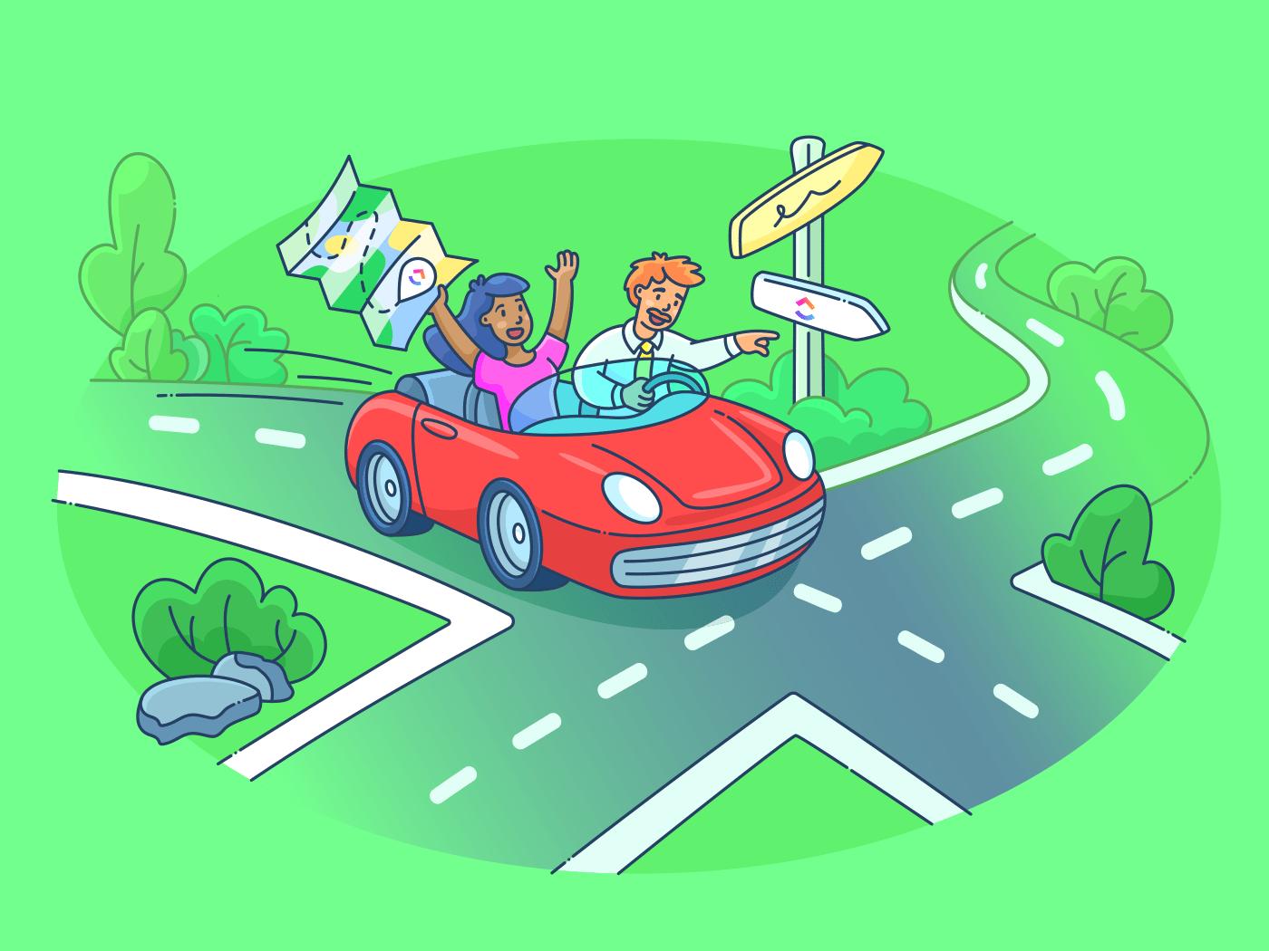 Roadmapping Tools- ClickUp Blog
